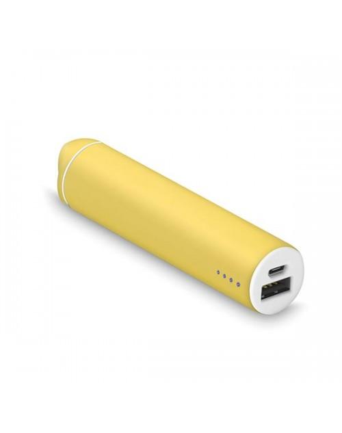 taks PowerTube 2200mAh Taşınabilir Şarj Aleti Sarı