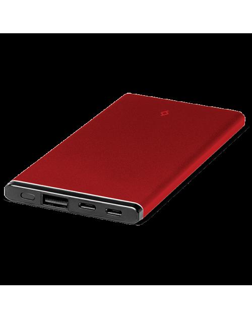 ttec AlumiSlim 4.500mAh Taşınabilir Şarj Aleti Kırmızı